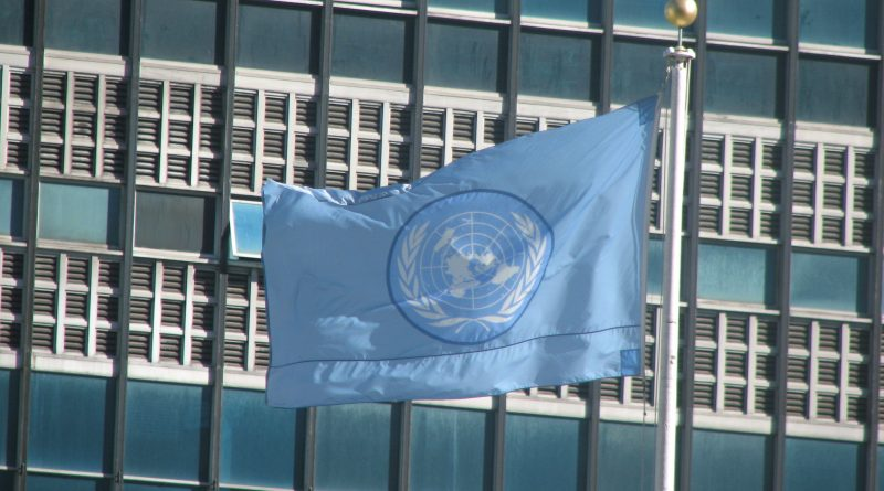 The Flag of the United Nations