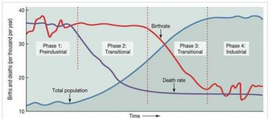 Figure 2. The Demographic Transition model.